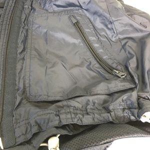 Abercrombie & Fitch Rain Jacket Blue Hood Light XS